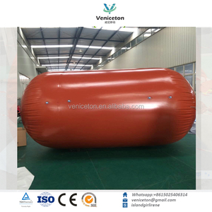 Veniceton Transparent pvc biogas storage bag/methane digester