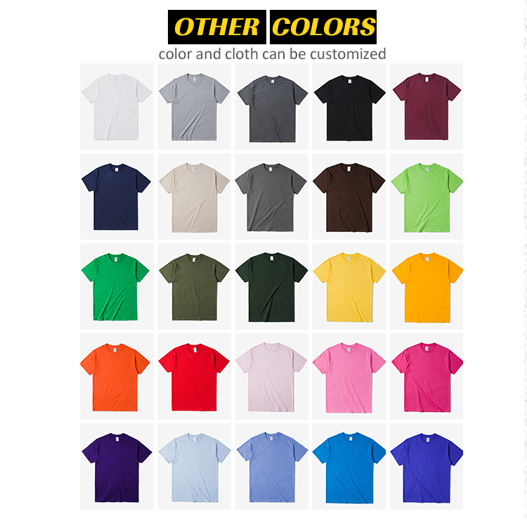 2019 del Commercio All'ingrosso moq basso mens strada di marca t shirt 100% cotone europeo uomo burlone di luce rosa t shirt