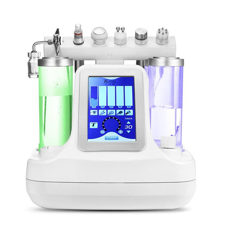6 in 1 Aqua Peel Machine Water hydrogen Oxygen Facial Jet ultrasonic microdermabrasion Machine 2018