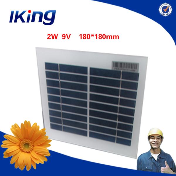鋼2w9vポリプラスチックフレーム付きソーラーパネル仕入れ・メーカー・工場