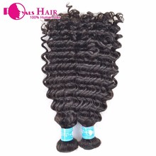 hot sell 2014 new products milky way human hair loose curly hair wefts
