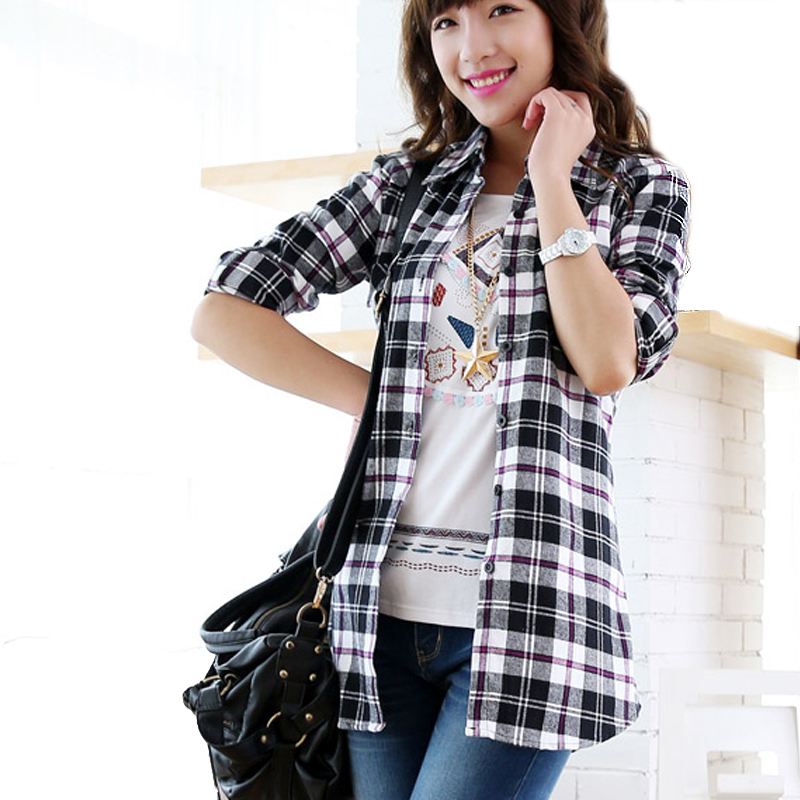 Checkered Pattern Shirt images