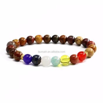 Ls D7363 Amazing Chakra Bracelet Pico Beads Bracelets Handmade