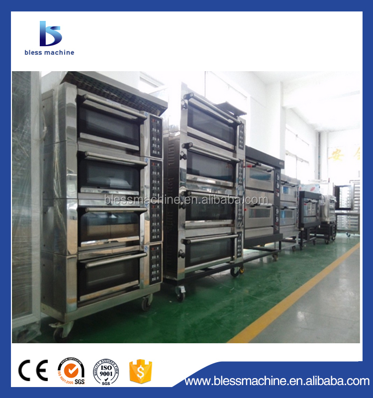 Up to EU Standard single deck baking oven exhibited at Canton fair