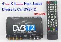 car dvb-t2 tuner 4 active DVB-T2 Receiver DVB-T24 satellite tv receiving antenna Car DVB-T2 TV Receiver in ghana