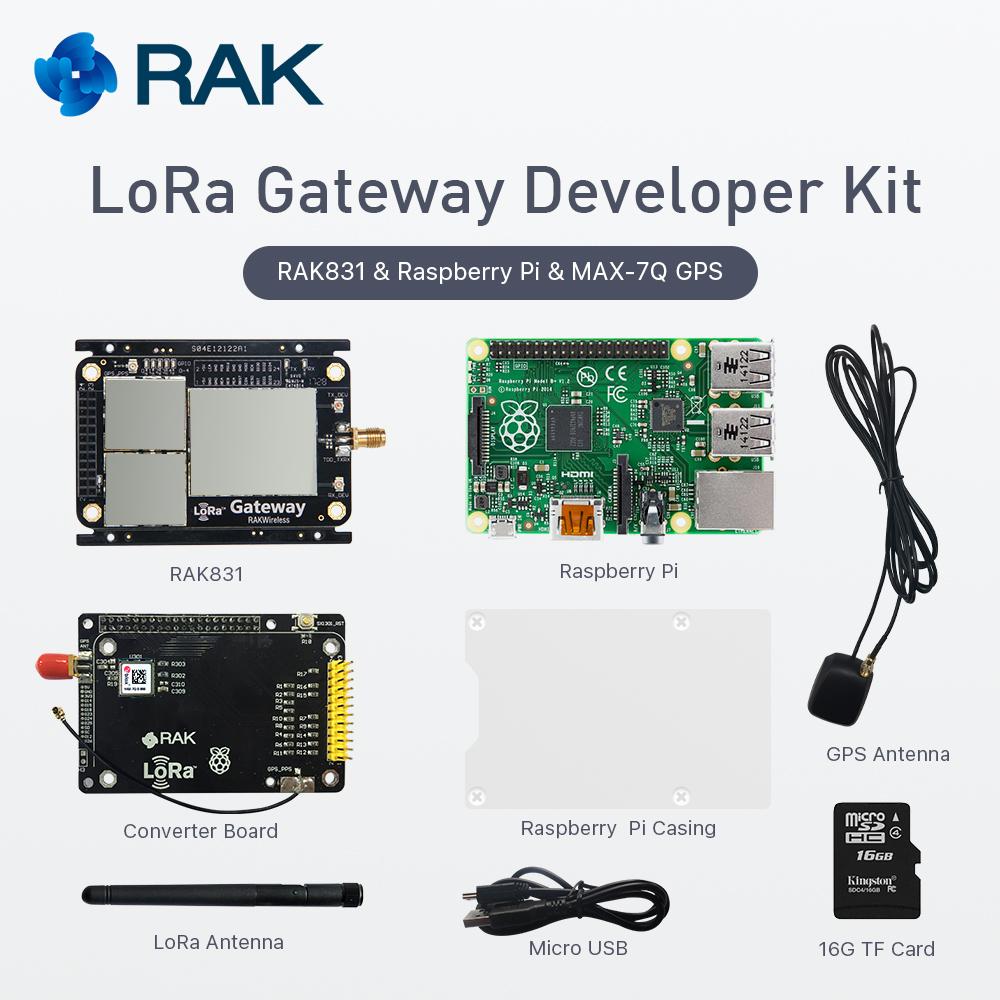Max-7q Gps Module With Lora Gateway Developer Kit,Rak831 Lora/lorawan  Module With Raspberry,Base On Sx1301,433/868/915mhz - Buy Gps Module,Sx1276  Lora