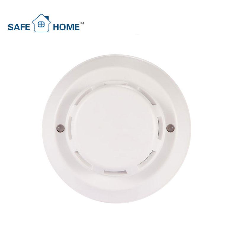 Alta sensibilidad convencionales 12V 4 DE fotoeléctrico fuego Detector de humo de los precios de venta al por mayor de China