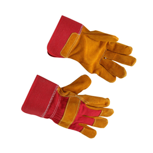 gloves leather tig welding reinforced lead lined gloves