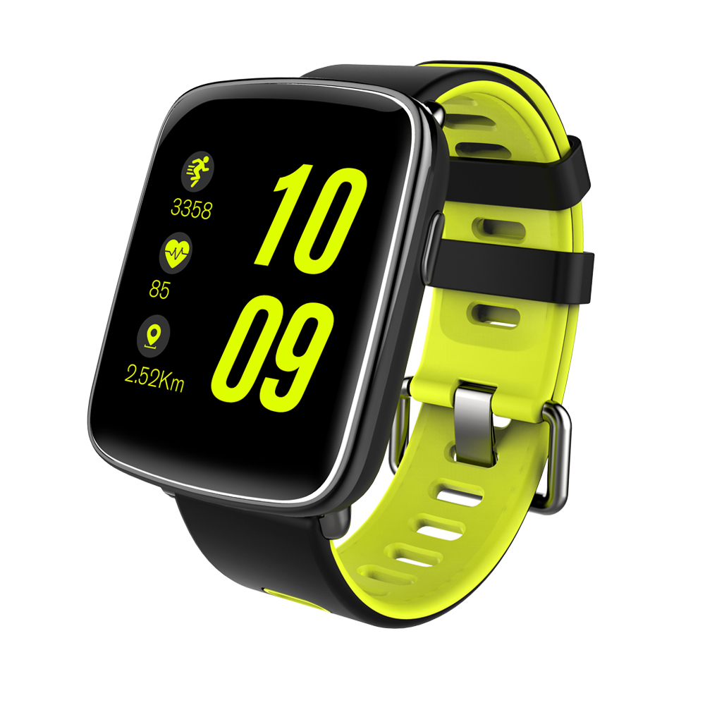 Heart Rate Smartwatch Pedometer Waterproof With Camera Support IP68 Smart Watch GV68