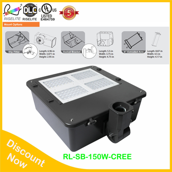High Efficiency Ip67 Outdoor Area Light 20 Watt 30w 40w