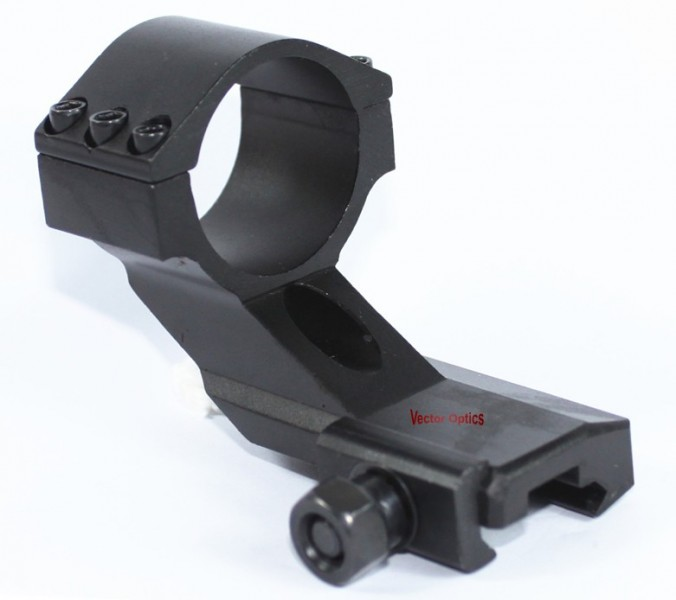 Vector Optics Tactical 30mm Weaver Picatinny Cantilever Mount Ring for Red Dot Scope Sights