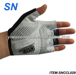YiWu SN gold supplier new style wholesale cheap thin bike cycling gloves