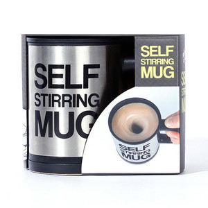 Office Home Stainless Steel Lazy Auto Self Stirring Mug Mixing Coffee Cup Low Price