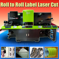 Self Adhesive Label Laser Converting Machine,Laser Dieless Cutter Label