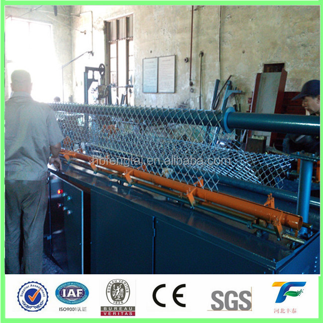 Chain Link Wire Mesh Fence Making Machine Gold Supplier - Buy Chain ...