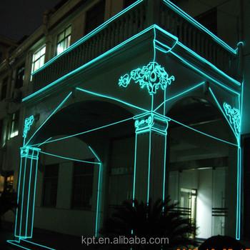X\'mas building Architecture indoor & outdoor el wire, flexible ...