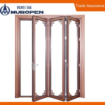 Aluminium frame plywood sliding folding door  sc 1 st  Alibaba & Aluminium Frame Plywood Sliding Folding Door - Buy Aluminium ... pezcame.com