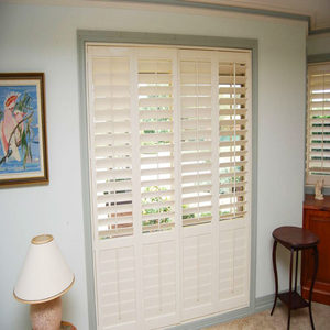 Basswood Plantation Shutters Interior Louver Octagon Window Blinds
