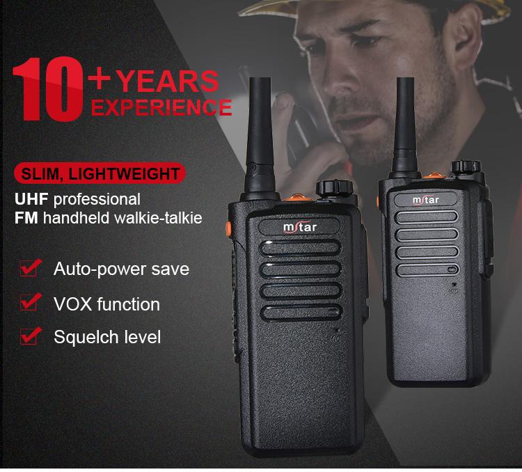Mstar MX-68 high frequency radio receiver full-duplex walkie talkie 2 way handheld vhf radios wireless walkie talkie