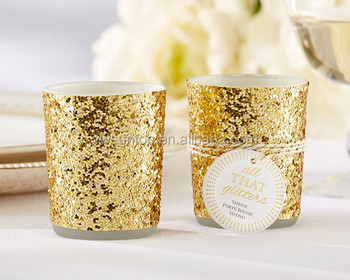 All that glitters is gold glitter candle holder gold theme wedding all that glitters is gold glitter candle holder gold theme wedding decoration junglespirit Choice Image