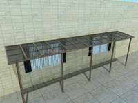 Aluminum Under Decking Awning with Aluminum Patio Covers with pc panel