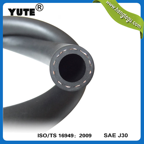professional manufacturer 10 years 3/8 inch smooth surface high pressure nbr braided oil hose