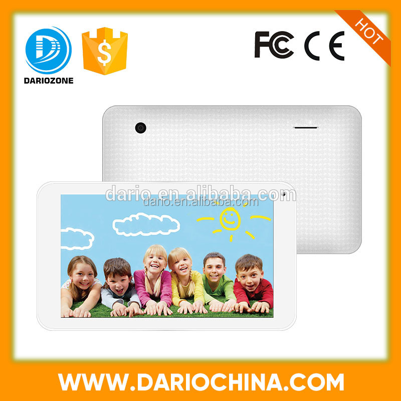 cheapest 7 inch HD kids learning tablet pc with educational games free download children song