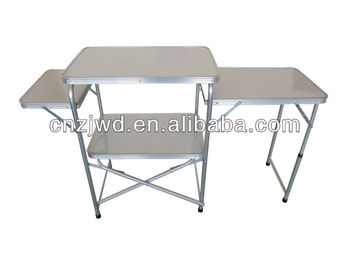 Aluminum Kitchen Stand /camping Kitchen Table With Floding Table ...