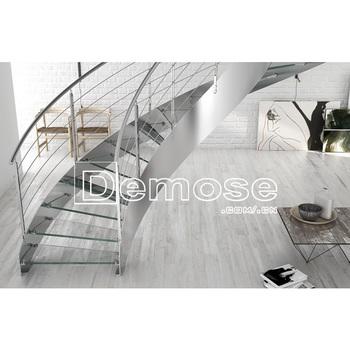 Garde-corps En Verre D\'escalier En Bois   Escaliers Intérieurs En ...