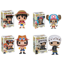 Global Snelle Levering Funko Pop Hot speelgoed <span class=keywords><strong>een</strong></span> <span class=keywords><strong>stuk</strong></span> Monkey D Luffy Anime Cartoon collectible figuur