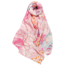 Wholesale soft SWR0007 pure cashmere wool scarf