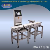 big bottle weight sorting check weigher can be combined with metal detector