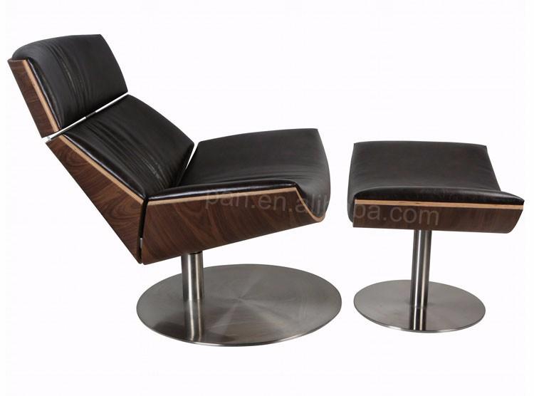 Modern Italian Poltrone Relax Design Marc Sadler Leather Kara Chair ...
