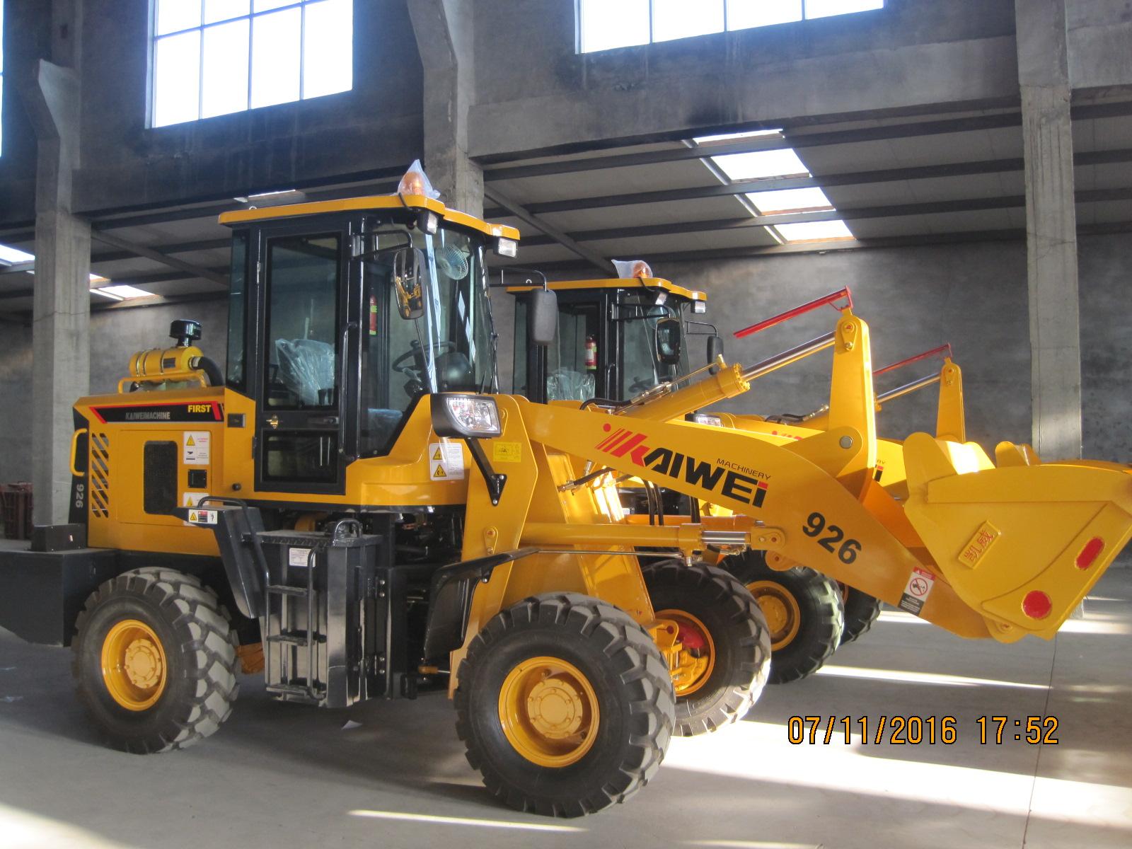 926 pesante costruzione attrezzature piccolo pale gommate in vendita