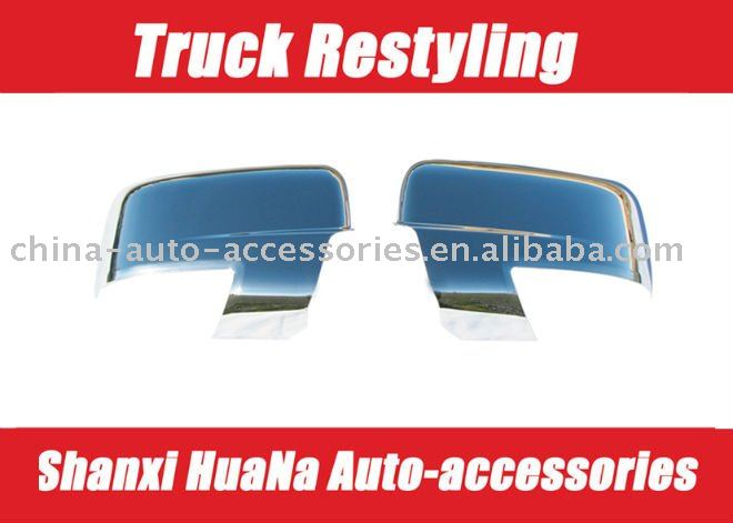 09-on Dodge Ram 1500 Chrome ABS Mirror Cover (With Turn Signal)