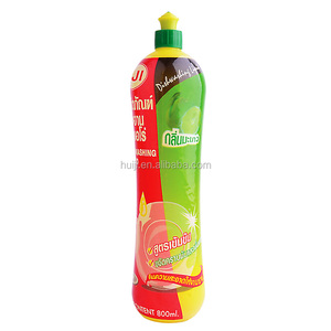 800ml PE bottle good flavor heavy duty dishwash