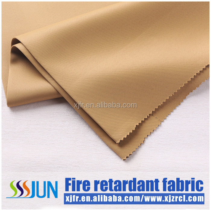 Luxury, quality polyester permanent flame retardant fabric for hotel, office , meeting room anti bacterial blackout curtain