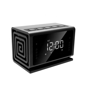 Clock Hidden Camera WiFi HD 1080P Mini Alarm Desk Spy Clock Camera Live Video Viewing or Playback For Home Security Nanny Cam