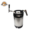 Best Quality Home Brewing Used Beer Kegs 2.5 Gallon Stainless Steel Wine Drink Beer Barrels with Rubber Handle