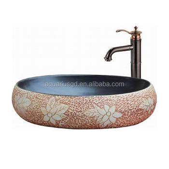 Keramik Waschbecken Oval Form Buy Waschbecken Ovale Form Keramik