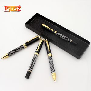 Promotional Custom Cheap Best Quality black metal ball point pen