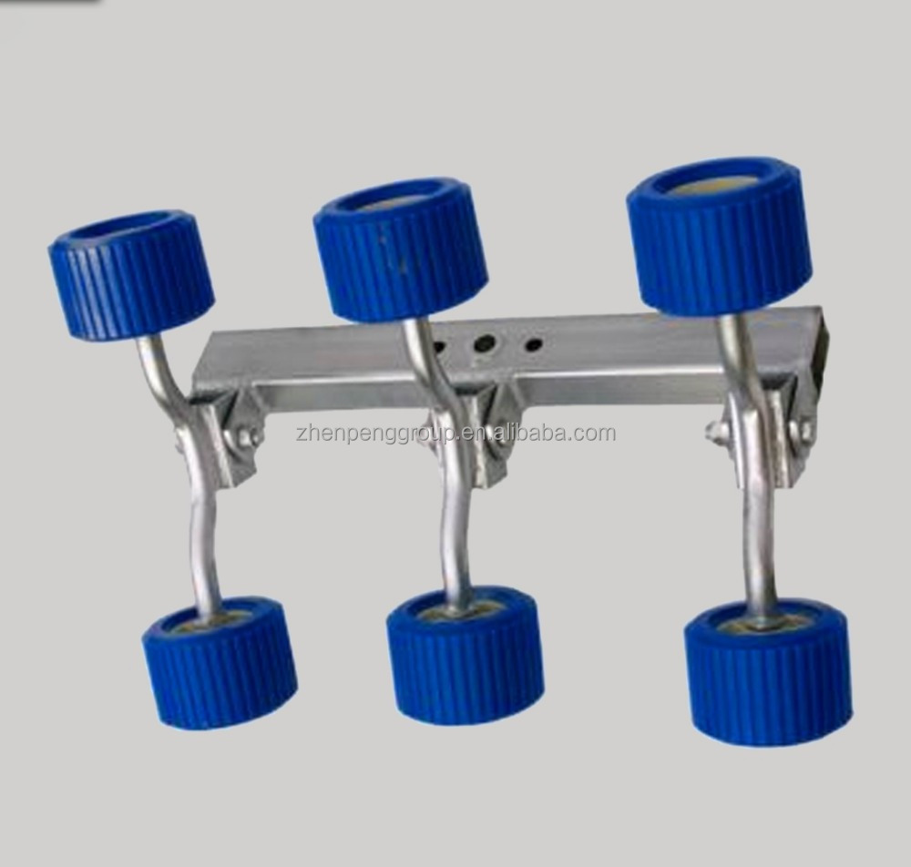 4-PCS/6-PCS/8-PCS Wobble Rollers Suportes para Reboque Do Barco Costela