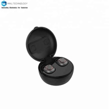 2018 NEW automatic control bt wireless earbuds with charging dock mini earbuds