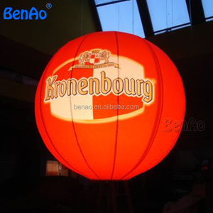 AO086 Best selling items retirement party inflatable light pvc balloon with logo PVC inflatable led light helium sky balloon