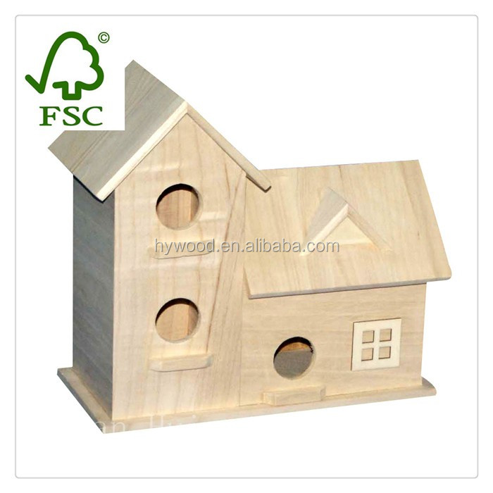China Manufacture Factory Supply antique natural new unfinished bamboo wood bird cage wholesale for sale