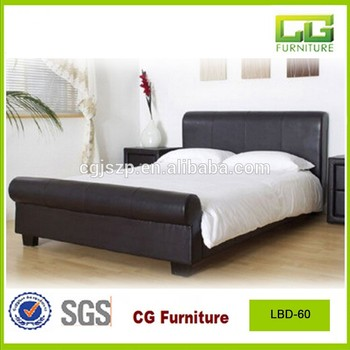 Modern black leather twin bedroom furniture sets for adults buy adult leather bed modern for Twin bedroom furniture sets for adults