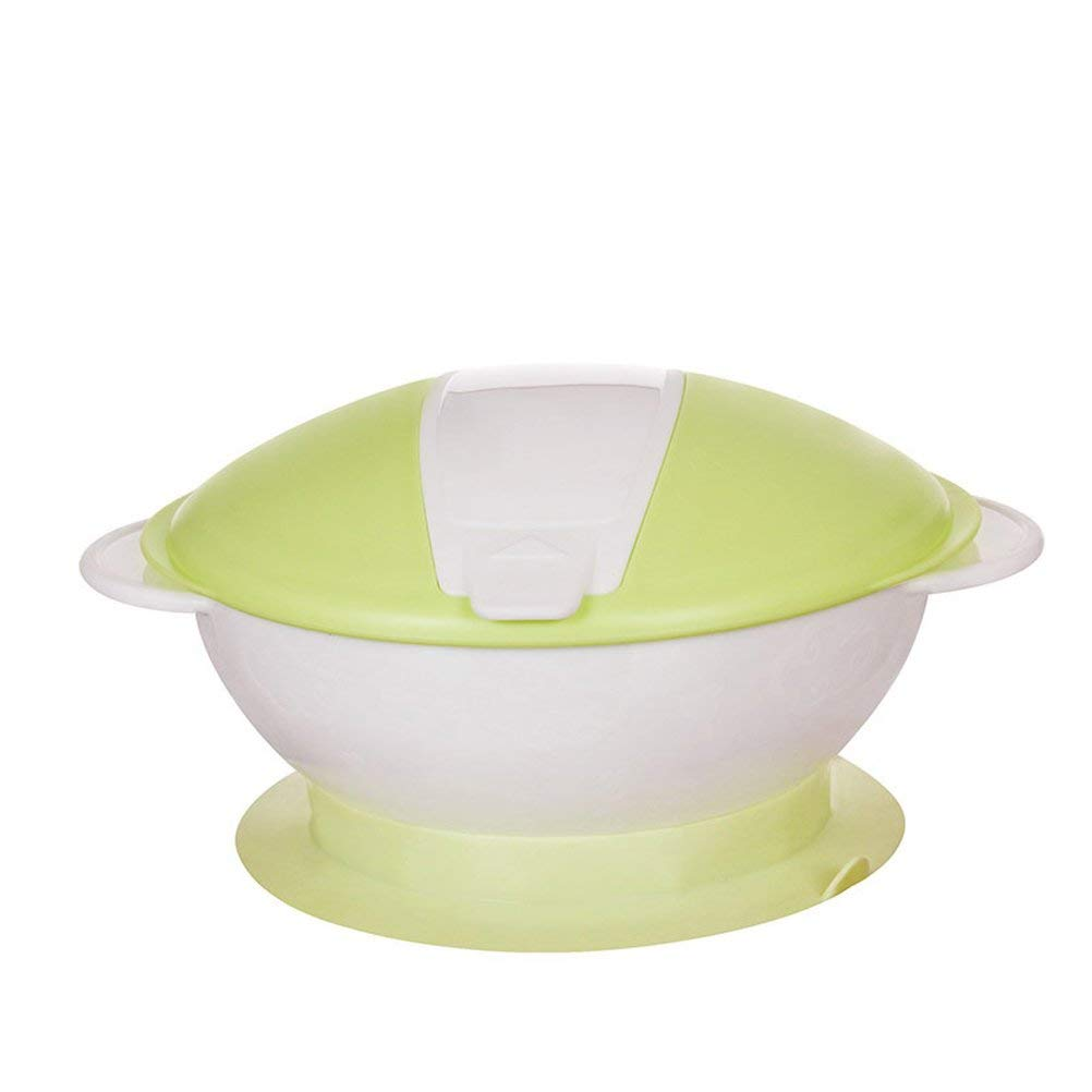 AODEW Baby Suction Bowl Baby Feeding Bowl Baby Tableware Set Spoon Feeding Set Baby Sucker Bowl Auxiliary Bowl