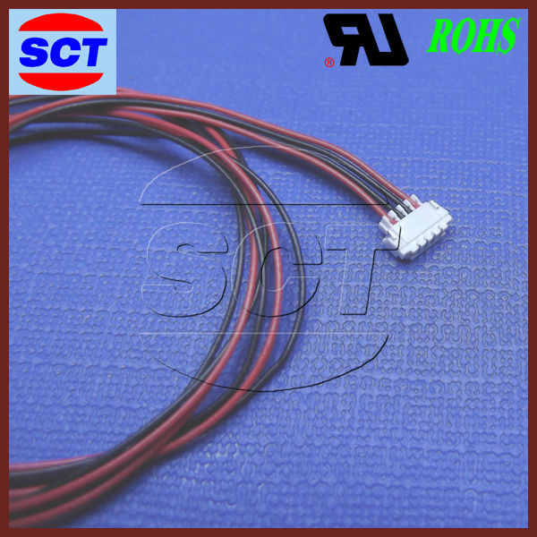 JST sur 0.8mm pitch housing JST crimping wire harness IDC cable