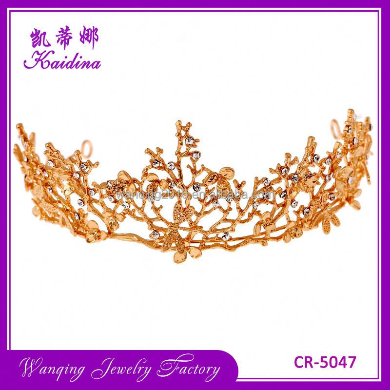 Most popular OEM quality home decorations iron crowns