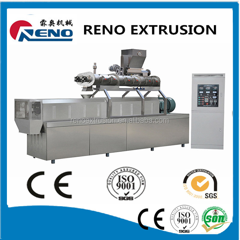 China supplier manufacture hot sale promotion meat added dog food machine line